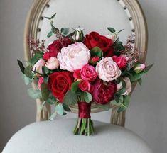 Small Bridal Bouquets, Spring Wedding Bouquets, Peony Bouquet Wedding, Bridal Bouquet Pink, Bridal Flowers, Blush Bridal, Silk Flowers, Fake Flowers, Blush Bouquet