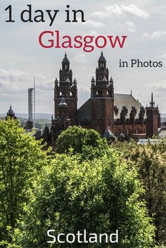 Discover what Glasgow Scotland has to offer: old and modern architecture, Street Art, Museum, History... Photos of 7 areas not to be missed when visiting Glasgow ********* Glasgow Travel - Scotland Travel - Things to do in Glasgow - Scotland Glasgow **