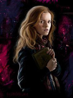 Hermione Granger by radimirovna on DeviantArt Harry Potter Movie Posters, Harry Potter Artwork, Harry Potter Films, Harry Potter Images, Harry James Potter, Harry Potter Hermione, Harry Potter Wallpaper, Harry Potter World, Hermione Granger Art