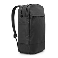Leather and Canvas Campus Backpack