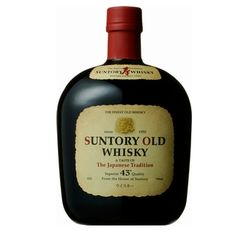 【サントリー ザ オールド】永年に渡り愛され続けている、アルコール43%のオールドです。