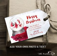 Christmas Photo Cards, Christmas Gift Tags, Christmas Fun, Photo Birthday Invitations, Christmas Templates, Online Printing Services, Birthday Photos, Printable Invitations, Peace And Love
