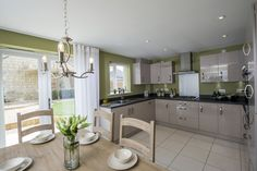 The kitchen in The Sheringham at Centurian View in Gloucester | Bovis Homes