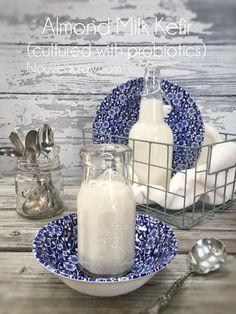 Cultured Almond Milk Kefir (with probiotics) Another great way to get gut healing probiotics in your diet!