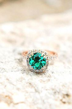 Gold Jewellery | Micro Pave Engagement Rings | Diamond Wedding Ring Styles 20190304