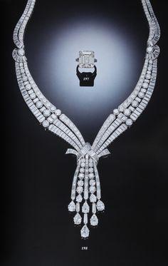 Clive Kandel diamond necklace