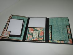 4x6 Gift Card Folio using Cafe Parisian by Graphic 45