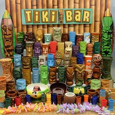 Fun article about history and collecting of Tiki mugs. Lots of great pictures. The huge selection of tiki mugs at Retro Planet