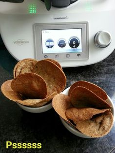 La cocina de Pssssss: CHIPS DE CHIA Y QUINUA EN THERMOMIX
