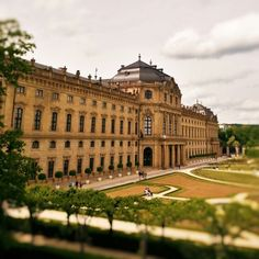 Würzburg Residenz Drei Musketiere