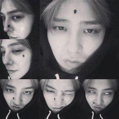 Big Bang's G-Dragon shares his many moles | allkpop