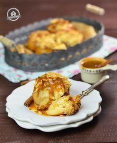 Zimt geht immer – Zimt Cheesecake im Bratapfel mit Mandelcrumble