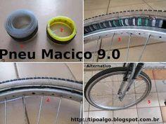 Foto: Pneu Maciço Alternativo versão 9.0 - Ideia de pneu sem câmara de ar. 1…