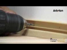 Lišta na kabely Arbiton LM60 floorwood - YouTube