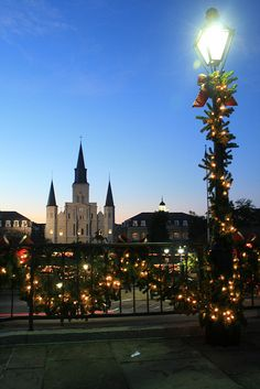 New Orleans...Jackson Square at Christmas