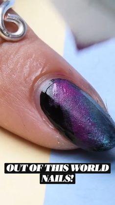 Nail Art Hacks, Nail Art Diy, Diy Nails, Cute Acrylic Nails, Cute Nails, Pretty Nails, Nail Art Designs Videos, Nail Art Videos, Diy Nail Designs