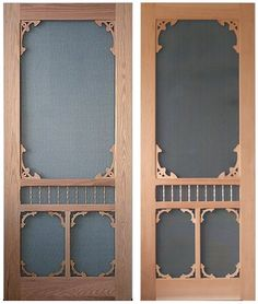 Antique Storm Doors | Victorian Screen U0026 Storm   VintageDoors.com