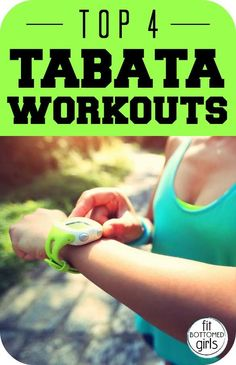 Who is up for a fun exercise challenge? Try at least one of these 4 Tabata workouts that can be done at any fitness level!
