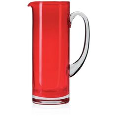 Lsa Basis Jug featuring polyvore, home, kitchen & dining, serveware, red and lsa international