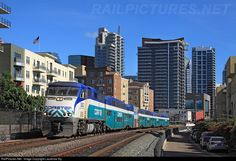 RailPictures.Net Photo: 3002 San Diego Coaster EMD F59PHI at San Diego, California by Laurence Sly