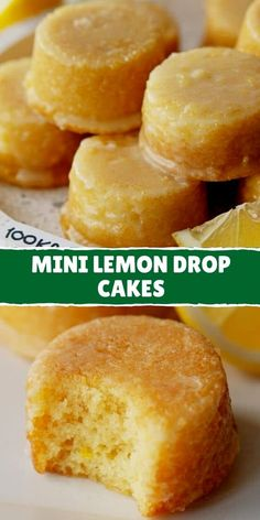 Brownie Recipes, My Recipes, Cake Recipes, Dessert Recipes, Cooking Recipes, Mini Cakes, Cupcake Cakes, Lemon Drop Cake Recipe, Best Banana Pudding