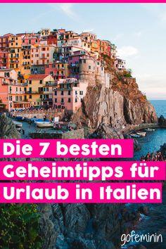Geheimtipps für Italien: 7 Orte ohne Massentourismus Wanderlust, Road Trip, Nature, Blog, Travelling, Trends, Italia, Hidden Places, Lake Garda