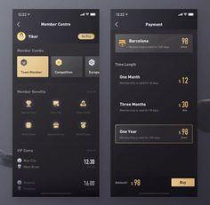 Quiz Design, Dashboard Design, App Ui Design, Interface Design, Ui Design Mobile, Mobile Application Design, Mobile Ui, Web Design Black, Minimal Web Design