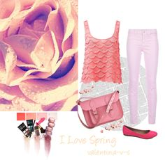 """""""pink spring"""" by hamraz1 ❤ liked on Polyvore"""