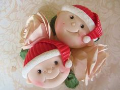 Santa Baby Cupcakes. - Cake by Noreen@ Box Hill Bespoke Cakes