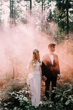 Bohemian Wedding photography | Alice Mahran | pink and green colours are meant to be just like this couple | love the posing, simple, but very strong