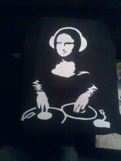 Mona Lisa spinning old school Mona Lisa More Pins Like This At : FOSTERGINGER @ Pinterest