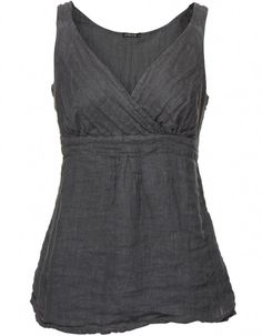 linen vest -- I LOVE this.  Needs to be warmer-toned, but it would be PERFECT then.