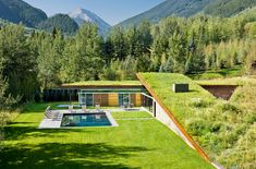 We all love a home that creates minimal ecological impact, reduces carbon footprint and becomes one with its surroundings as much as possible. House in the Mountain is one such green home which does all it can to blend in with its lush, natural backdrop even while ensuring that those inside have a comfortable and