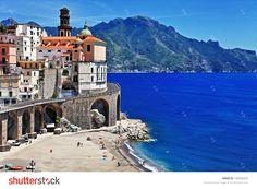 stunning Amalfi coast - Atrani. Italy