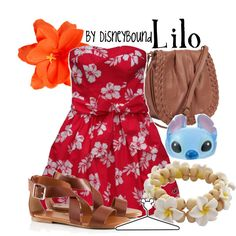 Lilo, created by lalakay on Polyvore