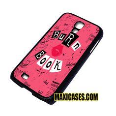 burn book samsung galaxy S3,S4,S5,S6 cases