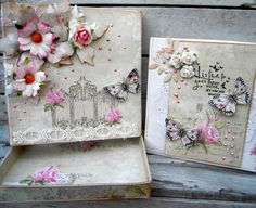 Scrappiness Vintage Cards, Decorative Boxes, Shabby Chic, Gift Wrapping, Blog, Handmade Cards, Crafts, Design, Oatmeal Face Mask