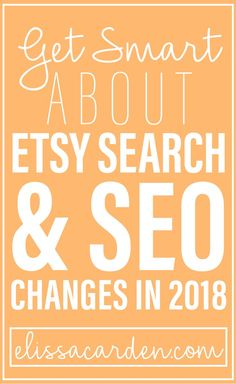 Etsy SEO and search