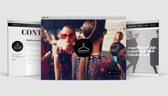 StyleCycle Responsive Website Design on Behance