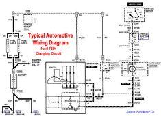 Sample Starter Circuit Automotive Wire Diagram