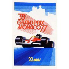 "Trademark Fine Art ""Monaco 1977"" Canvas Art by George Ham, 18x24"
