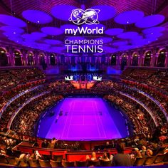 myWorld Champions Tennis in the Royal Albert Hall, London