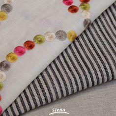 En Casa Siena encontraras la mejor calidad en #Lino de Chile! Fabricamos lino bordado, rayado y una amplia gama de colores planos! ¿Cual es tu favorito?   www.casasiena.cl