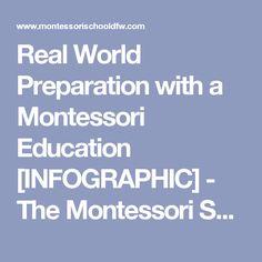 Real World Preparation with a Montessori Education [INFOGRAPHIC] - The Montessori Schools