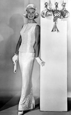 Doris Day in Midnight Lace, 1960. wearing clothes designed by Irene Lentz-Gibbons (1900-1962) American