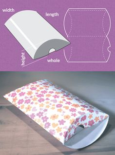 Completely custom sized template for a Pillow packhttp://www.templatemaker.nl/pillowpack