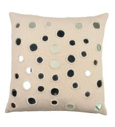 throw pillows | Sheesha Throw Pillow Silk Throw Pillow with Mirrors