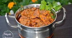 Mutton Curry, Nepal, Nepali Food, Nepali, Khasi ko Masu