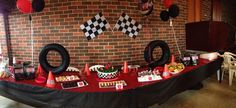 Joey's Racing Car 2nd Birthday Party - Little Dimple Designs