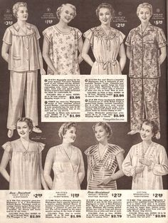 1955 Pyjamas by Lane Bryant Catalogue Late Vintage Vintage Advertisements, Vintage Ads, Gothic Fashion, Vintage Fashion, Emo Fashion, Plus Size Clothing Catalogs, Fat Girl Fashion, Military Ball Dresses, Classic Lingerie